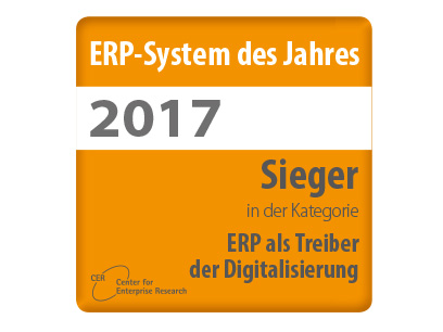 """APplus ist """"ERP-System des Jahres 2017"""""""