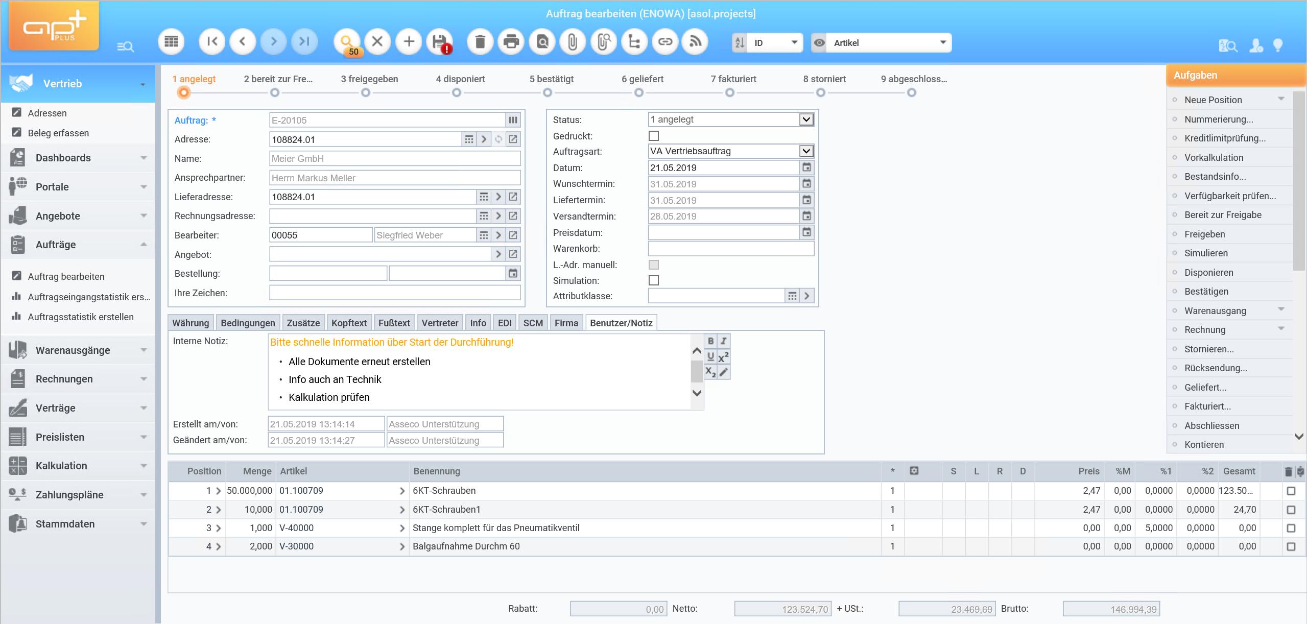APplus - neue Version 6.4