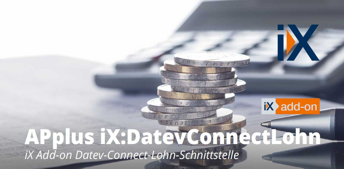 APplus iX:DatevConnectLohn